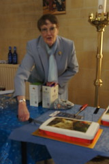 St Ambrose Church, West Cliff Road, Westbourne, Bournemouth, Dorset (Alwyn Ladell) Tags: dorset bh48be bournemouth westbourne westcliffroad stambrosechurch celialadell 90thbirthday gilliantankard birthdaycake