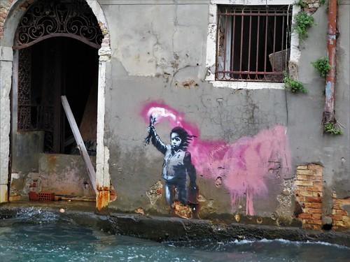Banksy / Venice - 6 oct 2019
