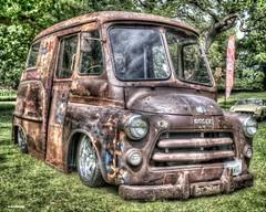 Dodge Van (Ronnie marshall) Tags: dodge dodgevan photoshop photomatix oldcar carshow nikon nikkor car vehicle transportation nikond7000