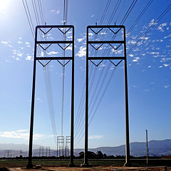 Pacific Coast Highway, California, USA (pom'.) Tags: panasonicdmctz101 powerline wires california usa pchdrive fromamovingvehicle ventura oxnard californiastateroute1 stateroute1 sr1 pacificcoasthighway pch