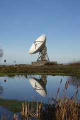 Reflecting on deep space (europeanspaceagency) Tags: esa europeanspaceagency space universe cosmos spacescience science spacetechnology tech technology cornwall england goonhilly uk antenna deepspace estrack goonhilly6