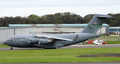 01-0187 (PrestwickAirportPhotography) Tags: egpk prestwick airport usaf united states air force boeing c17a globemaster 010187 mcchord mobility command