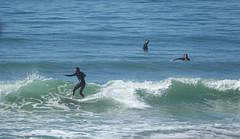 Surf (hans pohl) Tags: portugal sesimbra sports atlantique océan water eau vagues waves personnes people