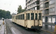 Naar Grimbergen (Maurits van den Toorn) Tags: tram tramway tranvia eléctrico strassenbahn villamos brussel bruxelles nmvb sncv vicinal buurtspoor buurttram aanhangwagen remorque