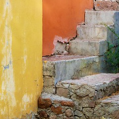 not for the faint of heart (msdonnalee) Tags: stairs stairway crumblingstairs walldetail escalier escala escalera escada