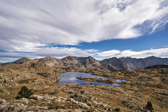 Madriu Valley, Pyrenees, Andorra [explored] (StarCitizen) Tags: pyrenees mountains sky autumn andorra landscape scenery scenic foliage water clouds lake