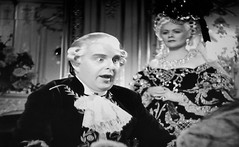 Robert Morley as King Louis XVI 1938 Marie Antoinette 5187 (Brechtbug) Tags: robert morley king louis xvi from 1938 film marie antoinette screen grab screengrab 2019 actor acting character history historic england court courtroom scene lawyer wig trial justice law courts judicial system brit british uk