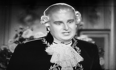 Robert Morley as King Louis XVI 1938 Marie Antoinette 5182 (Brechtbug) Tags: robert morley king louis xvi from 1938 film marie antoinette screen grab screengrab 2019 actor acting character history historic england court courtroom scene lawyer wig trial justice law courts judicial system brit british uk