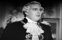 Robert Morley as King Louis XVI 1938 Marie Antoinette 5185 (Brechtbug) Tags: robert morley king louis xvi from 1938 film marie antoinette screen grab screengrab 2019 actor acting character history historic england court courtroom scene lawyer wig trial justice law courts judicial system brit british uk