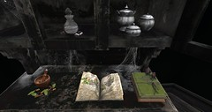 Granola reliably makes nice things. I put this on Merak's witch's shelf (ravenglassrentals) Tags: secondlife secondlife:region=atis secondlife:parcel=ravenglassrentals150witchscovenskyboxinatis3 secondlife:x=61 secondlife:y=195 secondlife:z=3008