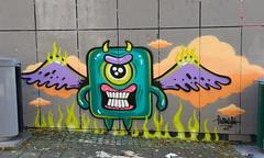 Graffiti Jam Bergen (October 2019) (svennevenn) Tags: sentralbadet nøstet graffitijam graffjam bergengraffiti graffitibergen bergen barnslig