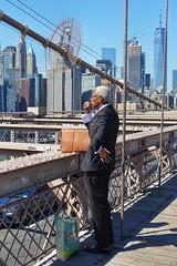 the businessman (dirklie65) Tags: brooklyn bridge new york businessman
