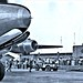 ARAMCO 'Flying Camel' DC-4 Skymaster at Dhahran, Saudi Arabia airport - Sept. 1947 [Robt. Yarnall Richie]