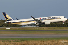 9V-SHJ A359 SINGAPORE AIRLINES (QFA744) Tags: 9vshj a359 singapore airlines