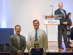 Awards Dinner at Photonics Conference (aaronrhawkins) Tags: sanantonio dinner award ipc photonics podium holger