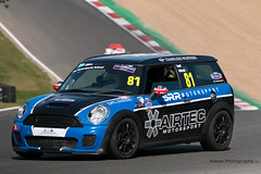 CSCC Open Series - MINI Clubman Cooper S ({House} Photography) Tags: cscc open series classic car championship brands hatch race racing motorsport motor sport canon 70d sigma 150600 contemporary housephotography timothyhouse bmw mini cooper s clubman srr sussex road