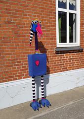 Yarnbombing (cats_in_blue) Tags: nordby fanøinternationalknittingfestival2019 fanø