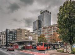 Graf-Adolf-Platz (norbert.karow) Tags: motive architektur profanbauten hochhäuser innenstadt düsseldorf verkehr