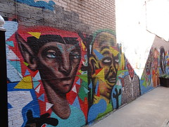 Murals in Kensington Market, Toronto (2 of 6) (Trinimusic2008 -blessings) Tags: trinimusic2008 judymeikle urban art publicart graffiti kensingtonmarket october 2019 fall autumn gratitude toronto to ontario canada murals