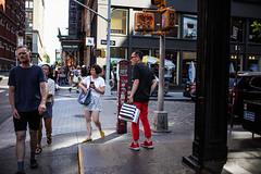 Mercer St. (Nun Nicer Artist) Tags: mercerst newyork fashion manhattan city urban nunnicer 35mmstreetphotography 35mm streetphotography