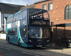 Arriva North East Alexander Dennis Enviro 400 SN15LLE 7554 (Daniely buses) Tags: arriva arrivabus alexanderdennis enviro400 alexanderdennisenviro400 arrivanortheast arrivamax sn15lle 7554 servicex15