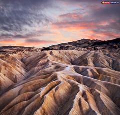 Heavily Eroded Ridges At Zabriskie Point Death Valley (Travel Center UK) Tags: zabriskie deathvalley heavilyerodedridges flights travel travelphotography travelcenteruk usa nationalpark california unitedstates itsallabouttravel