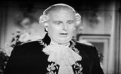 Robert Morley as King Louis XVI 1938 Marie Antoinette 5179 (Brechtbug) Tags: robert morley king louis xvi from 1938 film marie antoinette screen grab screengrab 2019 actor acting character history historic england court courtroom scene lawyer wig trial justice law courts judicial system brit british uk