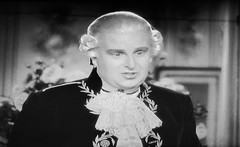 Robert Morley as King Louis XVI 1938 Marie Antoinette 5180 (Brechtbug) Tags: robert morley king louis xvi from 1938 film marie antoinette screen grab screengrab 2019 actor acting character history historic england court courtroom scene lawyer wig trial justice law courts judicial system brit british uk