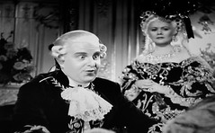 Robert Morley as King Louis XVI 1938 Marie Antoinette 5188 (Brechtbug) Tags: robert morley king louis xvi from 1938 film marie antoinette screen grab screengrab 2019 actor acting character history historic england court courtroom scene lawyer wig trial justice law courts judicial system brit british uk