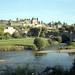 La Cité, le Pont Vieux et l'Aude. Carcassonne, Aude, Languedoc, France. (Voigtländer Bessa I, Portra 160) ref:3