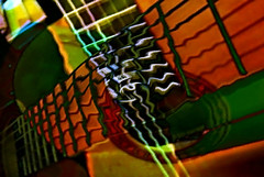 Playing from the Hymnal (Zoom Lens) Tags: woodandsteel guitar abstract surreal