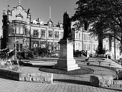 Scarborough Town Hall in black & white (phil da greek) Tags: blackwhite uk northyorkshire scarborough