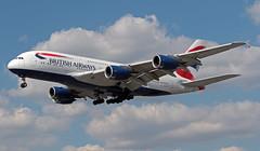 G-XLEL EGLL 16-07-2019 British Airways Airbus A380-841 CN 215 (Burmarrad (Mark) Camenzuli Thank you for the 20.8) Tags: gxlel egll 16072019 british airways airbus a380841 cn 215
