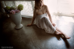 Bon C (Francis.Ho) Tags: bon xt2 fujifilm girl woman female femme lady portrait people beauty pretty lips eyes hair face elegant glamour young sensuality fashion naturallight fashionable attractive stylish lifestyles barefeet legs pajamas lingerie body sexy panties underwear lace skin erotic