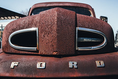 Frontal Assualt (Brad Prudhon) Tags: 2019 ford lanexa march old pickup providenceforge rusty virginia truck