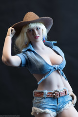 Cowgirl Stormy Part Deux (edwicks_toybox) Tags: 16scale acplay tbleague cowboyboots cowboyhat cowgirl femaleactionfigure phicen seamlessbody stormytempest