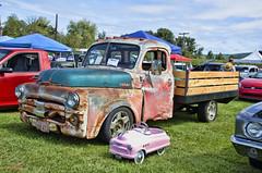 48 Dodge B1 (creepingvinesimages) Tags: htt 1948 dodge bi rackback vintage antique classic outdoors gaston oregon nikon d7000 photoshopcc topaz
