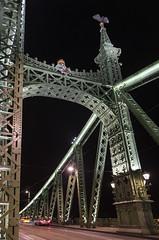 Liberty Bridge, Budapest / Мост Свободы, Будапешт (dmilokt) Tags: город пейзаж ночь река венгрия мост bridge city landscape night river hungary dmilokt