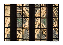 Through the window (PeteZab) Tags: window medieval leicester guildhall cathedral churchwindow view building peterzabulis
