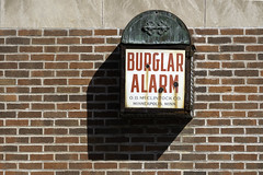 Burglar Alarm by O.B.McClintock Co. in Scandia, Minnesota (Lorie Shaull) Tags: burglaralarm obmcclintock bank scandia minnesota scandiastatebank