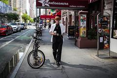 Cool with coffee (Nun Nicer Artist) Tags: 35mmstreetphotography 35mm nunnicer newyork walking coffee travel city manhattan streetphotography