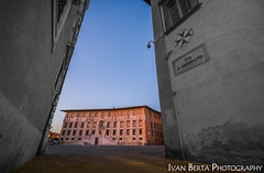 Palazzo della Carovana (Ivo.Berta) Tags: italy italia europe city town building architecture pisa old history blue color colors colour street square sky weather