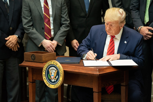 President Trump Signs Executive Orders o by The White House, on Flickr