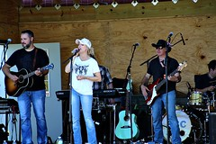 BIG SKY COUNTRY (MIKECNY) Tags: bigskycountry music band stage perform sing entertain guitar microphone drums group country ellmsfamilyfarm