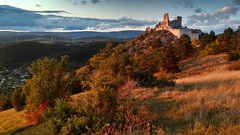 Čachtice Castle (Martin Hlinka Photography) Tags: čachtice castle ruin slovakia slovensko nature landscape sunset lenovo moto g5