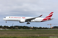 Air Mauritius Airbus A350-941  |  3B-NBP  |  LMML (Melvin Debono) Tags: air mauritius airbus a350941 | 3bnbp lmml 145 a359 xwb a350900 a350 first malta melvin debono spotting spotters spotter canon eos 5d mark iv plane planes photography airport airplane aircraft mla