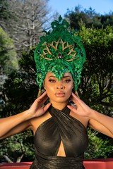 Belle Sophie Goddess Headdress (thebellesophie) Tags: model fashion fitness style blogger success africanamerican beauty influencer afro short hair beautiful photography portrait commercial fine art black young woman wealth yacht holiday