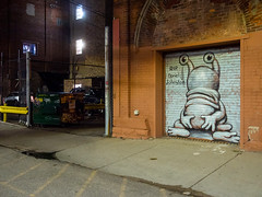 PA060966 (elsuperbob) Tags: detroit michigan emptyspaces emptystreets easternmarket nightscenes murals muralsinthemarket art streetart