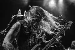 Soulfly (Live in NYC) (danperezfilms) Tags: soulfly maxcavalera lepoissonrouge live music heavymetal deathmetal sepultura bw blackandwhite livemusic pentax nyc