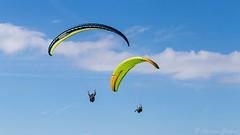 Flying (christian.grelard) Tags: bleu fly flying parapente sky cloud clouds sport paragliding paraglider